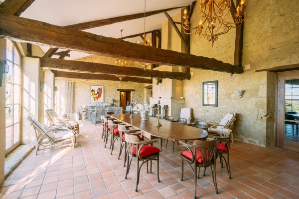 Maison De Maître on 17 Ha of Land With Splendid Views